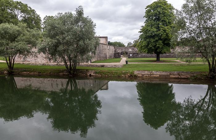 Besançon Doubs, Jardins de la Gare-d'Eau