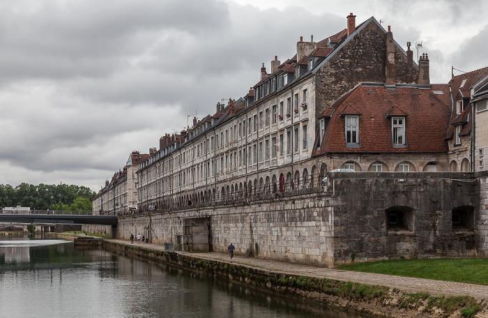 Besançon Doubs, Pont Battant, Quai Vauban