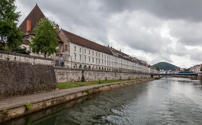 Besançon Doubs, Quai Vauban, Pont Battant