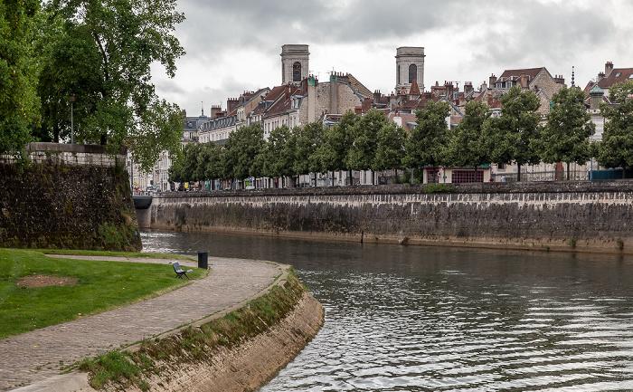 Besançon Doubs, Quai de Strasbourg Église Sainte-Madeleine