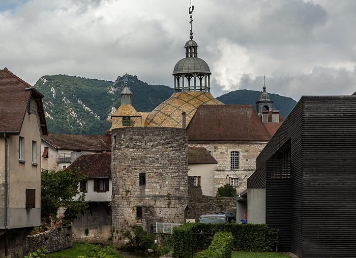 Salins-les-Bains Kuppel der Chapelle Notre-Dame-Libératrice Casino de Salins-les-Bains