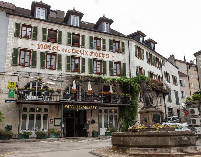 Salins-les-Bains Hôtel des Deux Forts