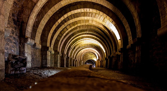 Salines de Salins-les-Bains: Unterirdische Stollen