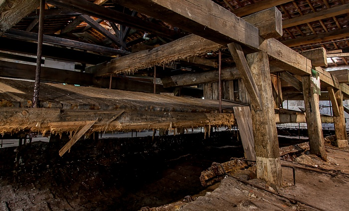 Salines de Salins-les-Bains: Oberirdische Salzgewinnung