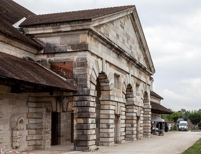 Saline Royale d'Arc-et-Senans (Königliche Saline): Östliche Salzwerkstatt