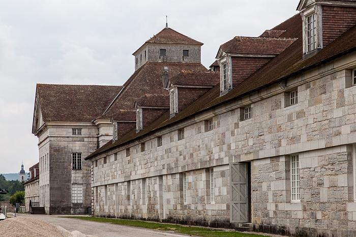 Saline Royale d'Arc-et-Senans (Königliche Saline): Westliche Salzwerkstatt