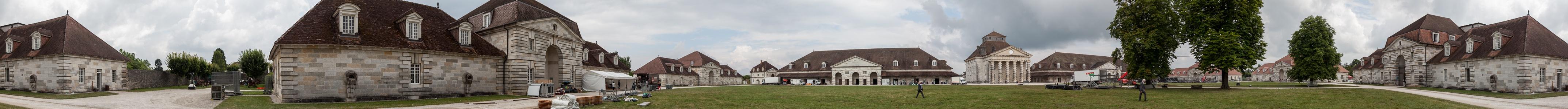 Saline Royale d'Arc-et-Senans (Königliche Saline): David Gilmour Arc-et-Senans Saline Royale d'Arc-et-Senans