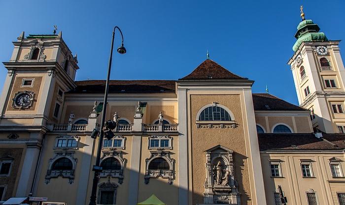 Innere Stadt: Freyung - Schottenkirche Wien 2016