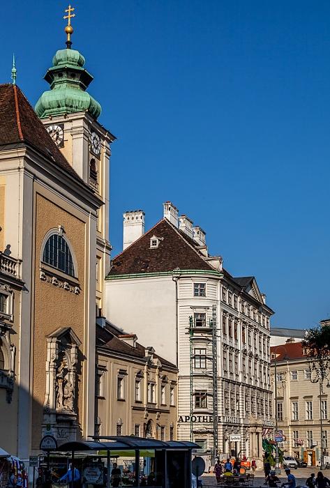 Innere Stadt: Freyung - Schottenkirche Wien