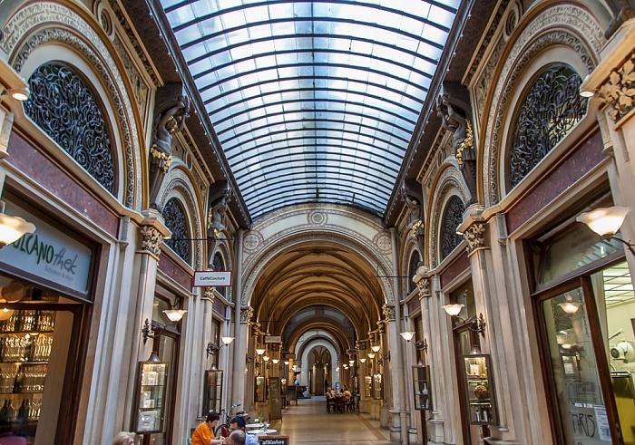 Palais Ferstel: Einkaufspassage Wien