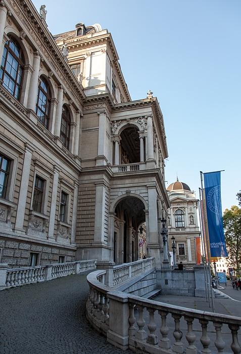 Innere Stadt: Wiener Ringstraße (Universitätsring) - Universität Wien Wien 2016