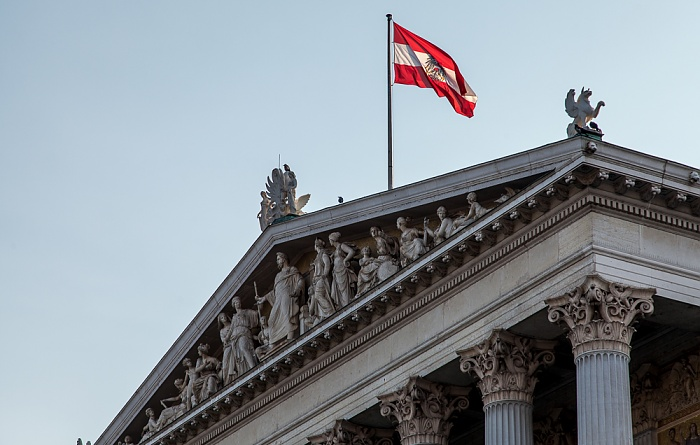 Wien Innere Stadt: Parlamentsgebäude