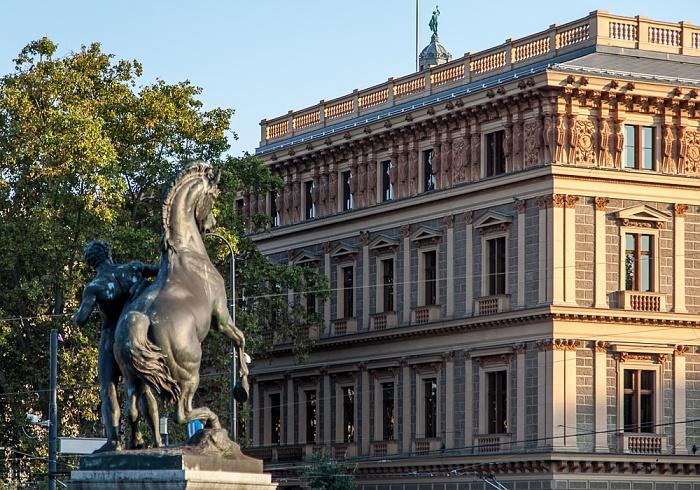 Innere Stadt: Wiener Ringstraße (Dr.-Karl-Renner-Ring) - Palais Epstein