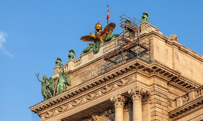 Innere Stadt: Hofburg - Neue Burg Wien 2016