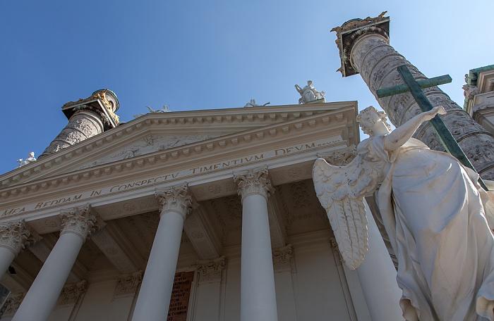 Wieden (IV. Bezirk): Karlskirche Wien 2016