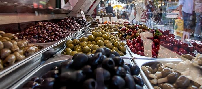 Mariahilf (VI. Bezirk): Wiener Naschmarkt - Oliven