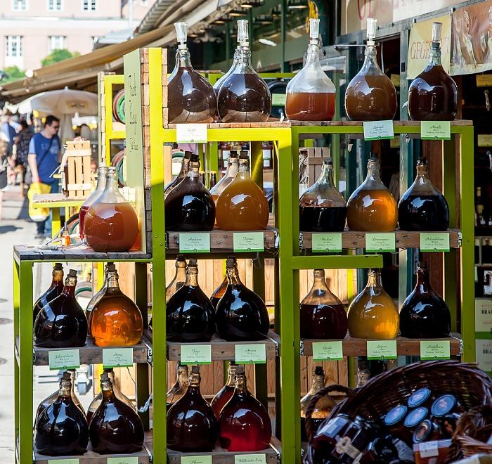 Mariahilf (VI. Bezirk): Wiener Naschmarkt - Wiener Essig Brauerei