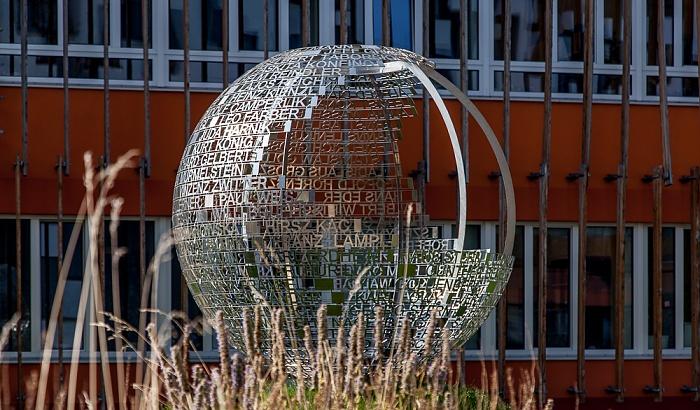 Wien Leopoldstadt: Campus WU - Denkmal für die vom NS-Regime verfolgten Angehörigen der Hochschule für Welthandel