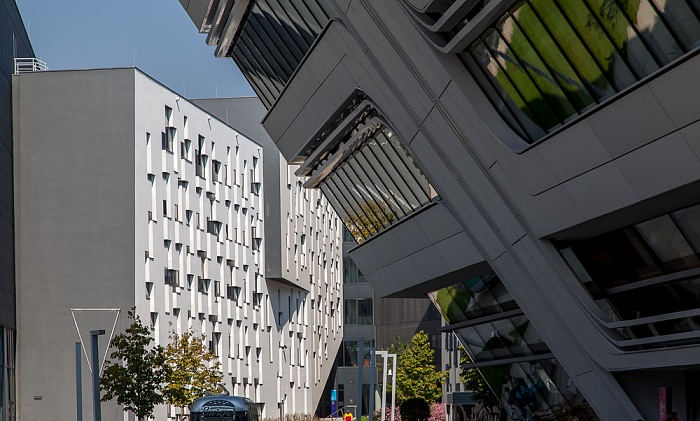 Wien Leopoldstadt (II. Bezirk): Campus WU - Departement 4 (D4), Library & Learning Center (LC)