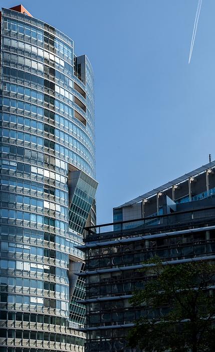 Wien Donaustadt (XXII. Bezirk): Donau City - Andromeda-Tower Tech Gate Vienna