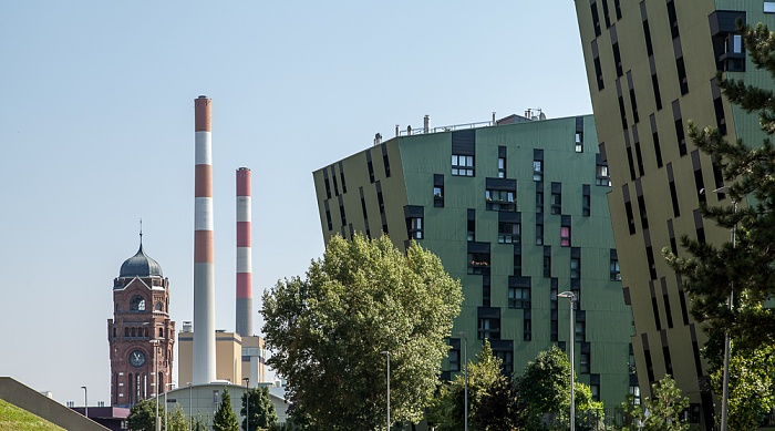 Wien Simmering (XI. Bezirk): Gaswerk Simmering, Wohnpark Ville Verdi