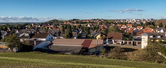 Blick vom Kopen Donaueschingen 2016