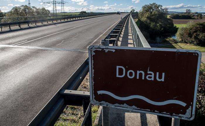 Donaubrücke Bundesstraße B 31/33 Donaueschingen 2016