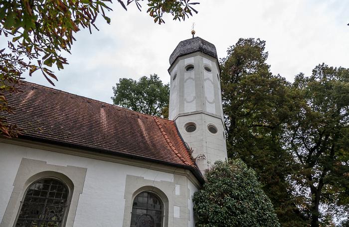 Hallbergmoos Wasserschloss Erching: St. Walburga