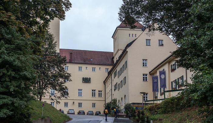 Freising Bayerische Staatsbrauerei Weihenstephan: Brauereigebäude
