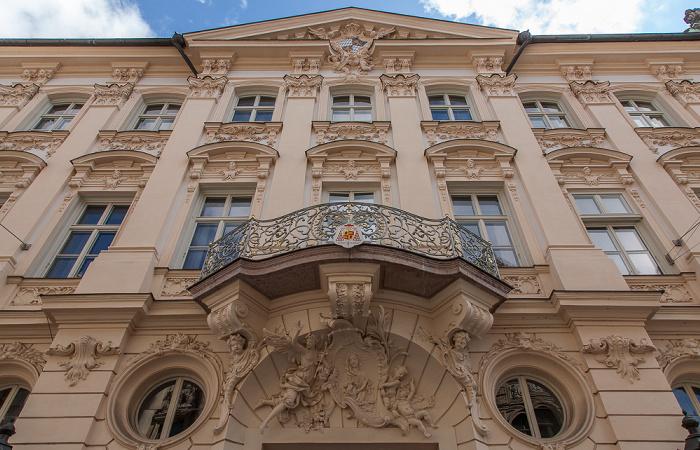 München Altstadt: Kardinal-Faulhaber-Straße - Palais Holnstein (Palais Königsfeld, Erzbischöfliches Palais)