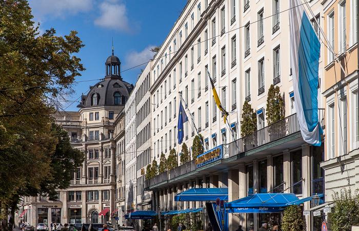 München Altstadt: Promenadeplatz - Hotel Bayerischer Hof