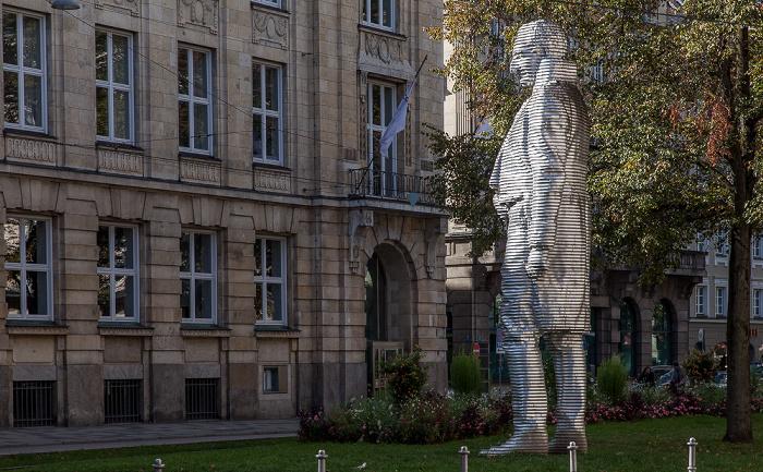 München Altstadt: Promenadeplatz - Maximilian-von-Montgelas-Denkmal