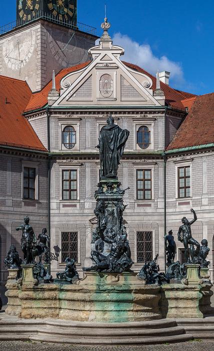 München Residenz: Brunnenhof