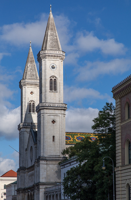Maxvorstadt: Ludwigstraße - Ludwigskirche München