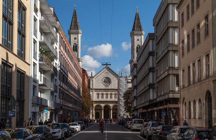 München Maxvorstadt: Schellingstraße - Ludwigskirche