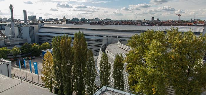 München Blick von der Technischen Universität (Arcisstraße)