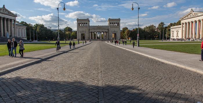 Maxvorstadt - Königsplatz München 2016