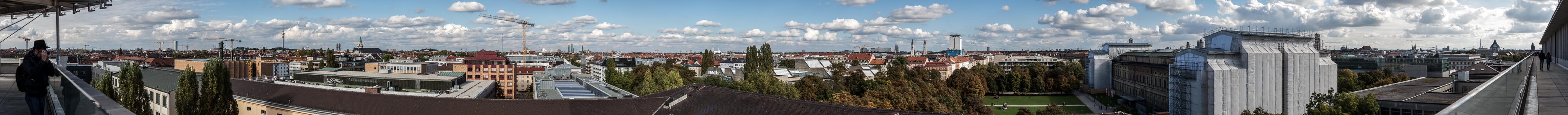 München Blick von der Technischen Universität (Arcisstraße 21) Technische Universität