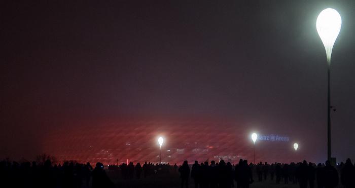 Allianz Arena im Nebel München 2016
