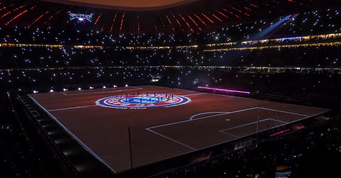 Allianz Arena: Jahresabschluss des FC Bayern München  München 2016