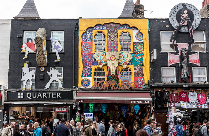 Camden Town: Camden High Street London 2017