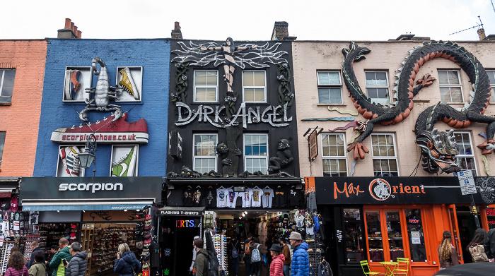 London Camden Town: Camden High Street