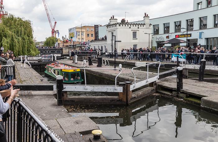 London Camden Town: Camden Lock, Regent's Canal