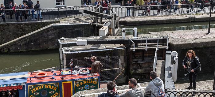 Camden Town: Camden Lock, Regent's Canal London 2017