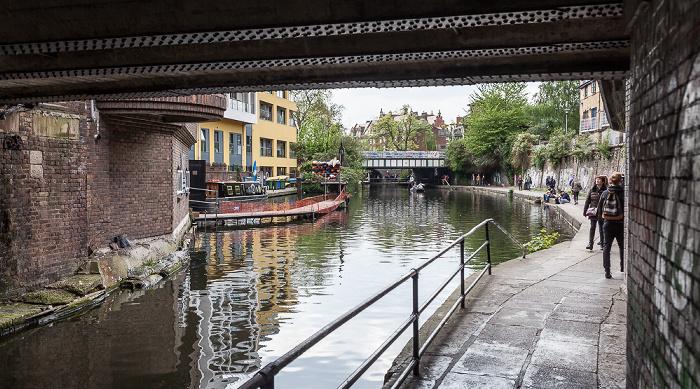 Camden Town: Regent's Canal London 2017
