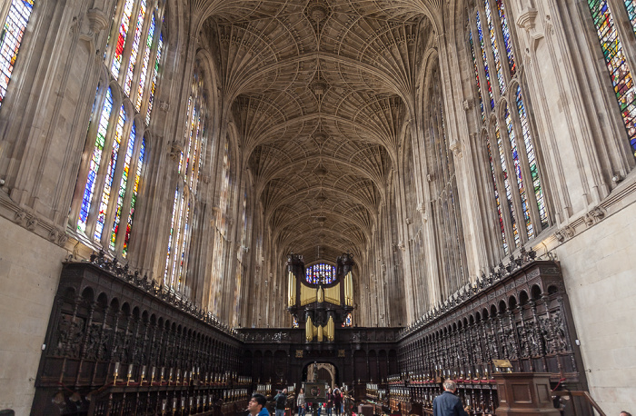 Cambridge King's College Chapel