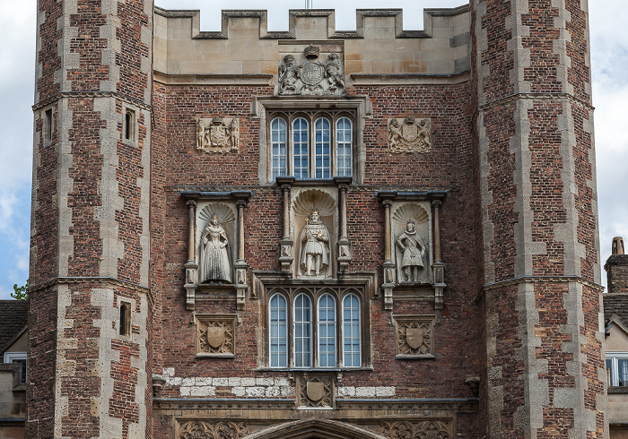 Cambridge Trinity College: Great Gate