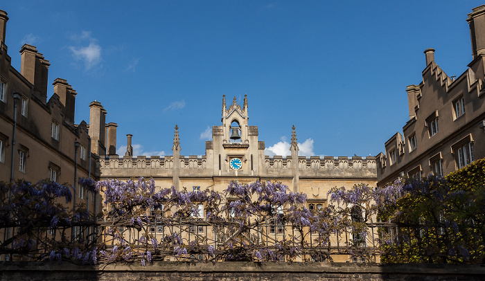Cambridge Sidney Street: Sidney Sussex College