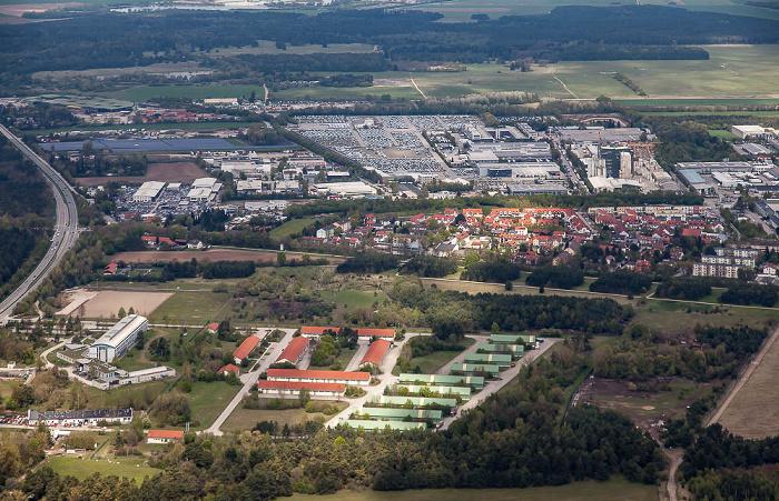 Luftbild aus Zeppelin: Hochbrück München 2017