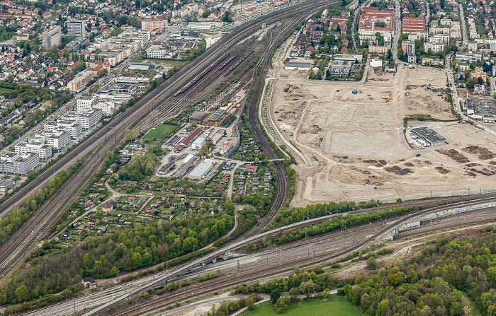 Luftbild aus Zeppelin: Pasing-Obermenzing München 2017